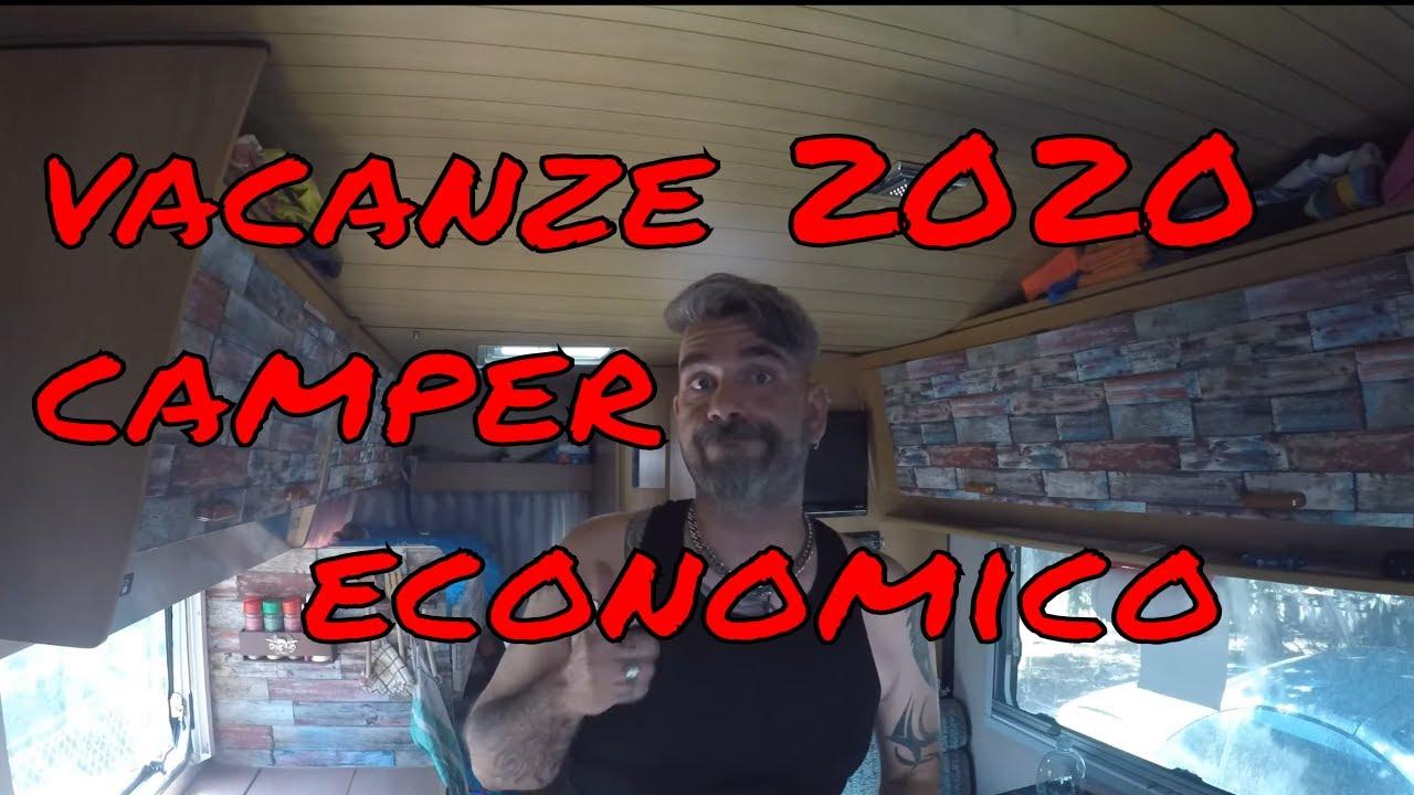 VACANZE ESTATE 2020 - CAMPER ECONOMICO