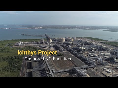Ichthys Project Onshore LNG Facilities History of the Project