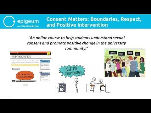 Consent Matters: Boundaries, Respect and Positive Intervention