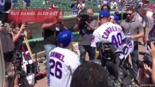 Chicago Cubs Willson Contreras Surprises 10 Year Old Fan With Down Syndrome On His Birthday