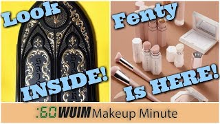 Kat Von D Saint + Sinner EYESHADOW PALETTE + FENTY By Rihanna is HERE! | Makeup Minute