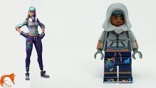 LEGO Fortnite Teknique SKIN MOC Minifigure - Painting Time