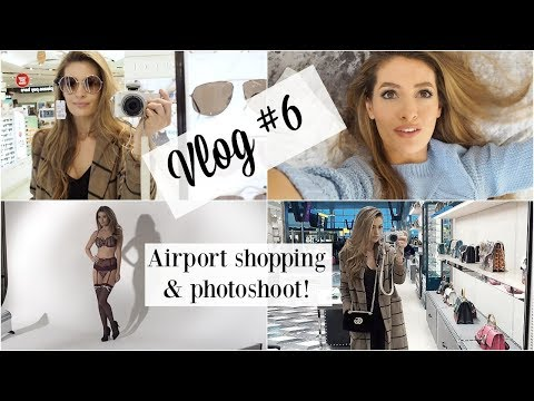 PHOTOSHOOT IN HOLLAND & AIRPORT SHOPPING