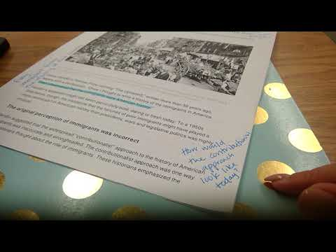 6 Tutorial for Reading and Annotating Immigration Article