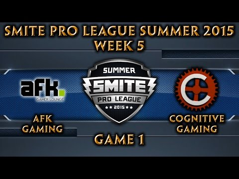 SPL: NA Week 5 - AFK Gaming vs. Cognitive Gaming (Game 1)