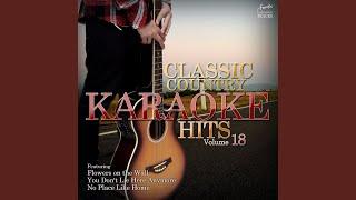 I Break Things (In the Style of Erika Jo) (Karaoke Version)