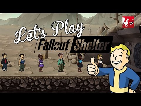 Let's Play – Fallout Shelter (Opening 50 Lunchboxes)