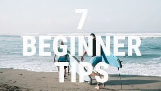 How to Surf | 7 Tİps beginners need to know to Start Surfing