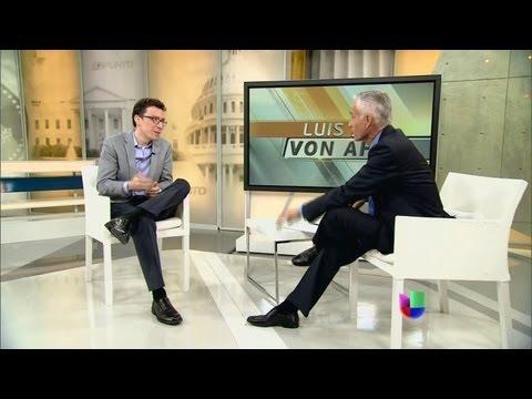 Inventor y empresario guatemalteco Luis Von Ahn en Al Punto - Al Punto