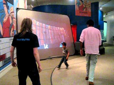 Sam Meech's Interactive Balafon installation