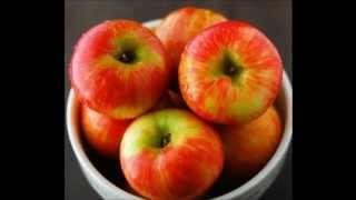 Десерт Печеные яблоки ЦВЕТОК