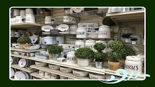 Shop With Me Home Decor At The Christmas Tree Shops! 2018