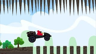 Angry Birds Cross Country - GREEN CAR UNLOCKED! RED RACING GRAND PRIX CAR!