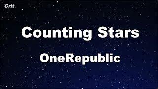 Karaoke♬ Counting Stars - OneRepublic 【No Guide Melody】 Instrumental