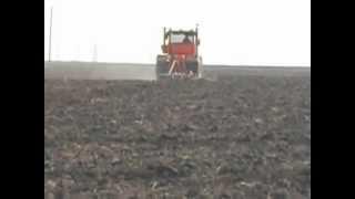 Трактор К-700 Тракторный Мировой рекорд К-701 БалтикалыК-700 - К-707Т V12 300D в пашне(Колёсные тракторы К-707Т