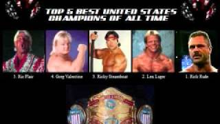Top 5 United States Champions of All Time - The Defitive List Part 1 of 2