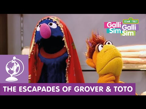 Galli Galli Sim Sim - Grover and Toto at the Saree Shop