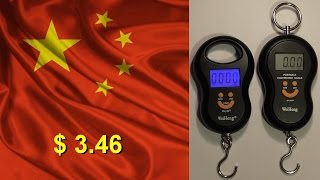 Электронные весы WeiHeng - Посылка с AliExpress(, 2015-02-24T18:43:35.000Z)