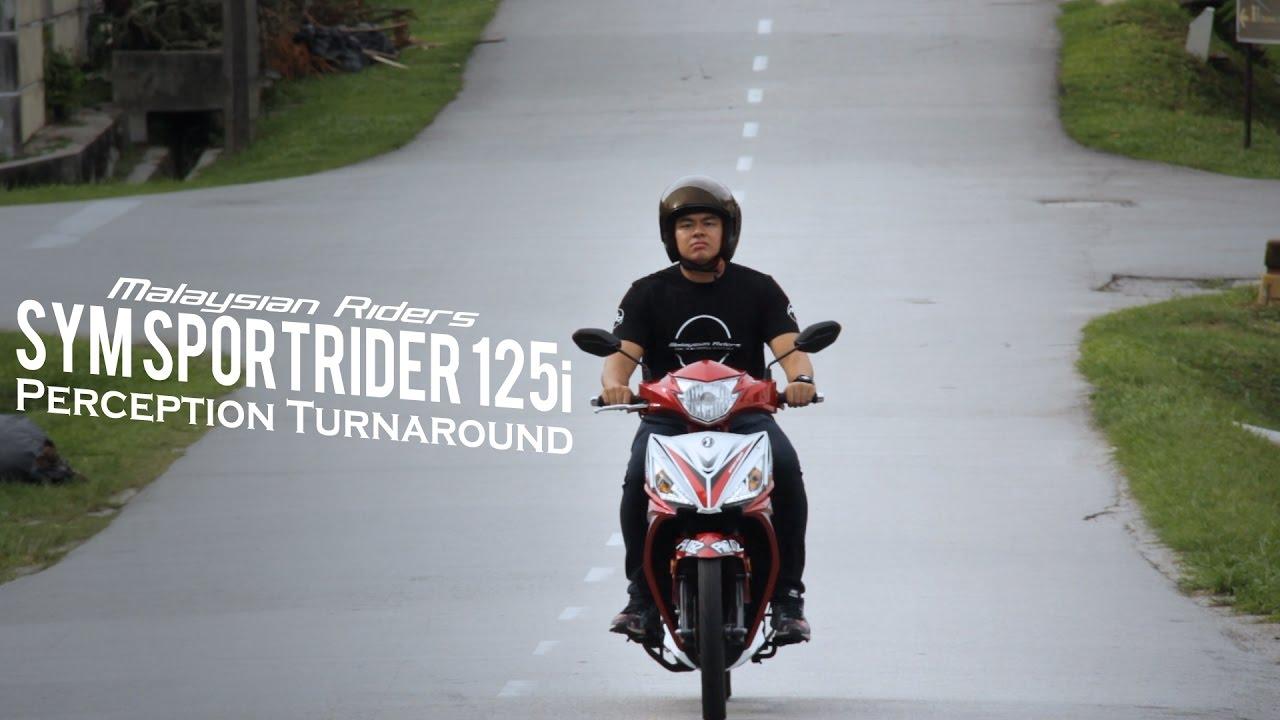 SYM Sport Rider 125i: Perception Turnaround -- Ep  7