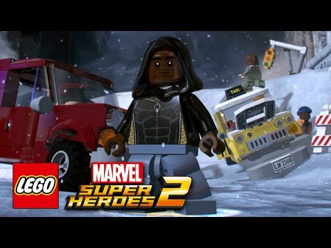 LEGO Marvel Super Heroes 2 - How To Make Luke Cage (Mike Colter)