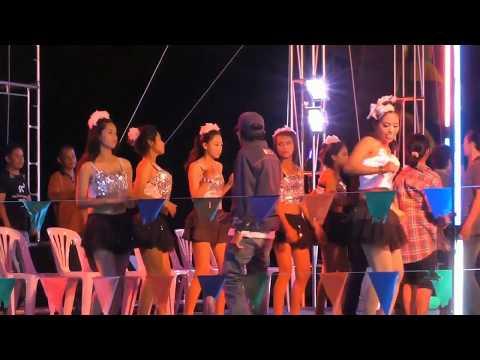 Thai Dancing Girls on stage, Prachuap Khiri Khan (TH), Dez. 2016
