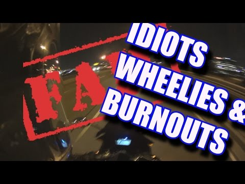 [ CBR500R DAILY CLIPS ] EPIC FAIL, Security problems, Idiots