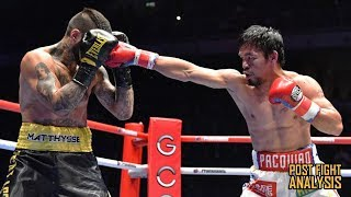 MANNY PACQUIAO VS LUCAS MATTHYSSE - KNOCKOUT!!! CALLS OUT CRAWFORD, LOMACHENKO, & KHAN!!! (REVIEW)