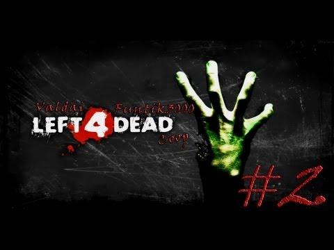 Смотреть прохождение игры [Coop] Left 4 Dead. Серия 2 - Зомби в лесу.