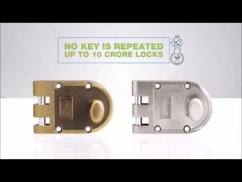 Godrej Ultra Vertibolt Main Door Locks Youtube