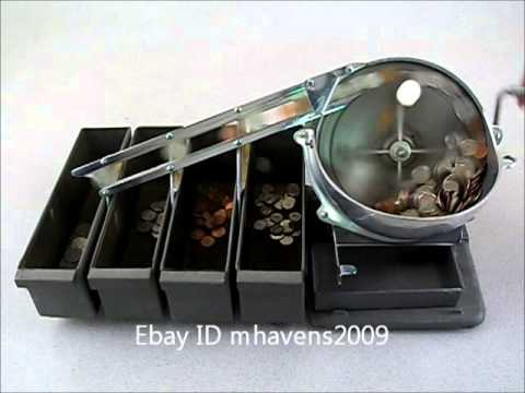 Klopp Engineering Model J Coin Sorter Youtube