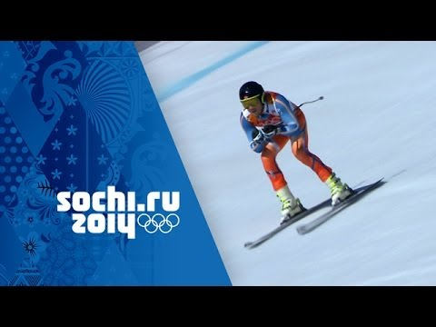 Alpine Skiing – Men's Super Combined – Downhill | Sochi 2014 Winter Olympics