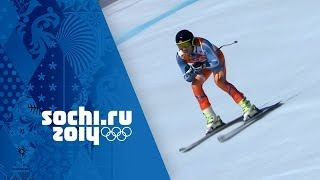 Alpine Skiing - Men's Super Combined - Downhill | Sochi 2014 Winter Olympics