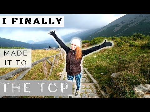HIKING ŚNIEŻKA | KARPACZ POLAND | Travel Vlog 013