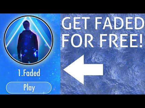 HOW TO GET FADED FOR FREE! l Piano Tiles 2 l Tutorial
