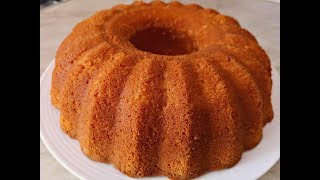 Ванильный Кекс на Кефире. Самый Простой Рецепт.| Vanilla Cake