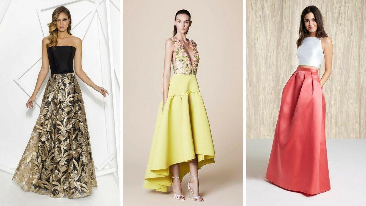 33bf3b49c FALDAS LARGAS ELEGANTES PARA VESTIR ♥ #Moda #Fashion #Faldas