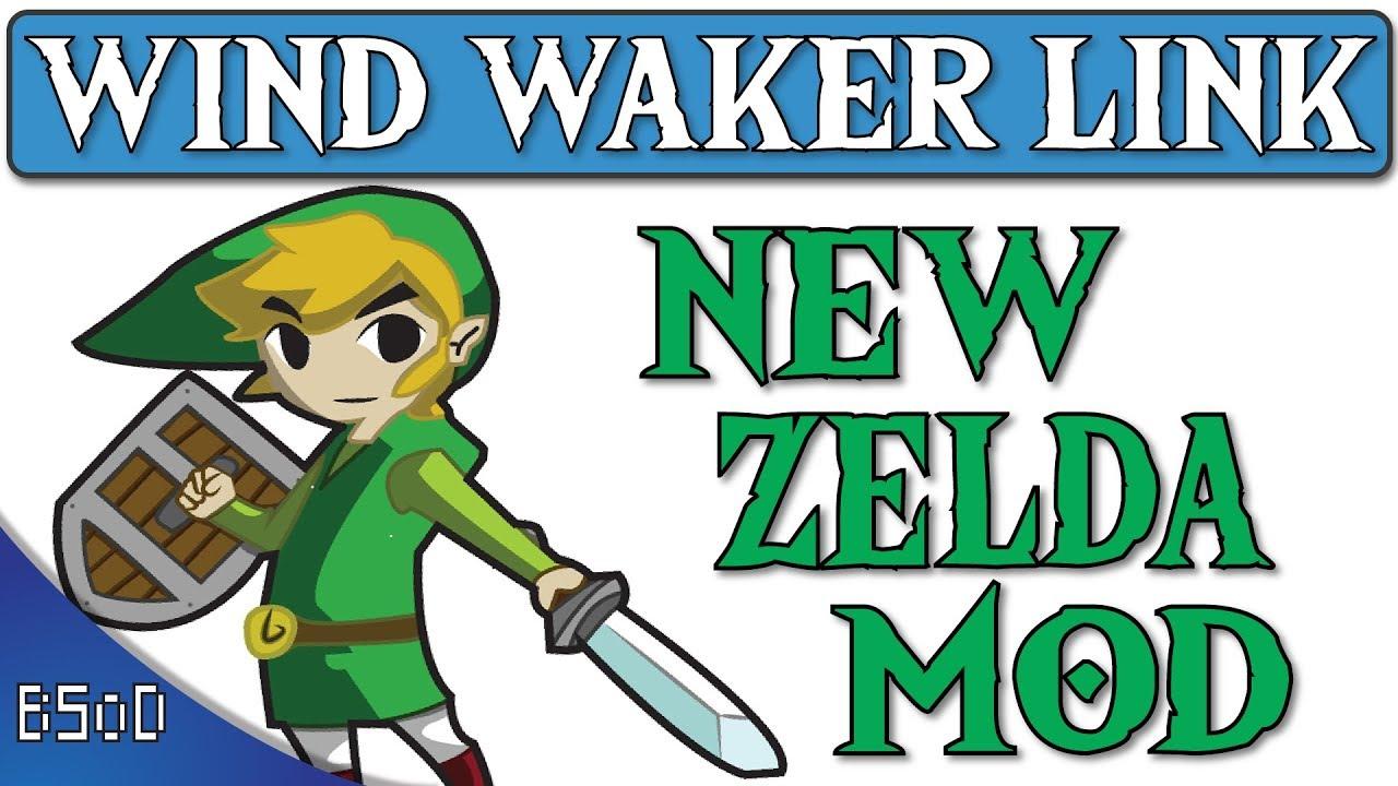 The Legend of Zelda Breath of the Wild   Windwaker Link