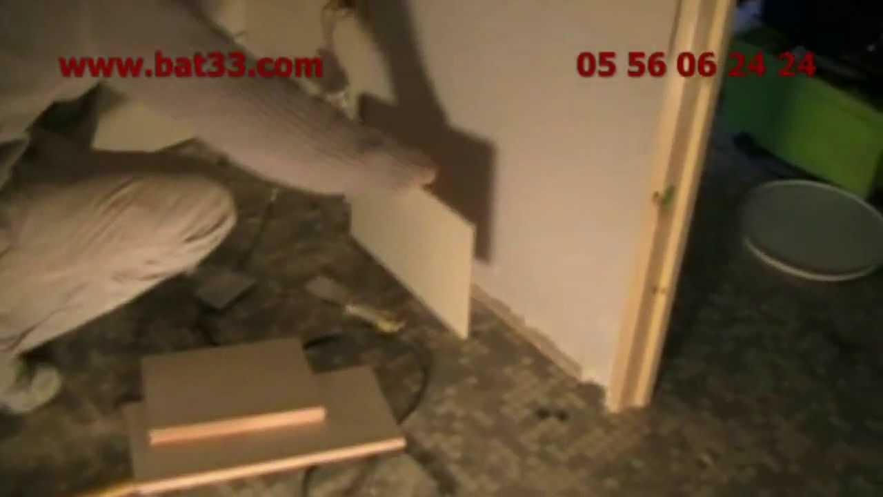 Installation salle de bain bordeaux r novation 33 youtube - Salle de bain bordeaux ...