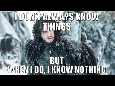 Image result for jon snow meme