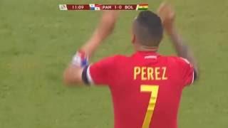 Panama vs Bolivia goal Blas Perez