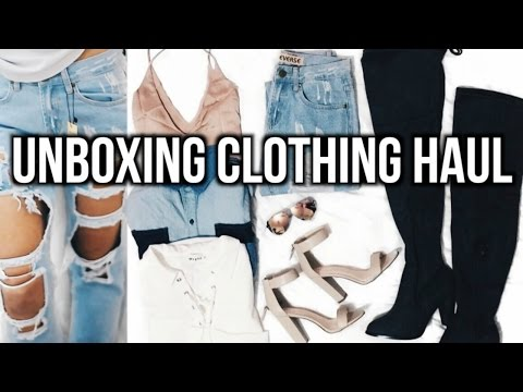 Unboxing Winter Clothing Haul! | Breezylynn08