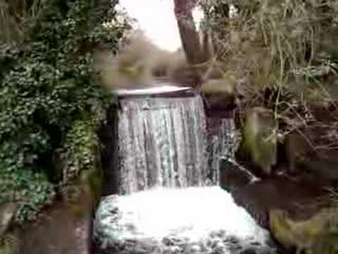 Small waterfall on the Waterside in Chesham