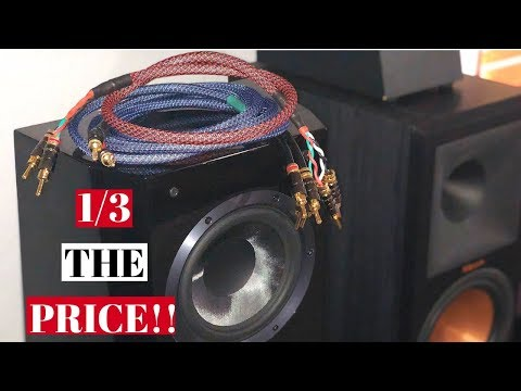 HOW TO MAKE YOUR OWN PREMIUM QUALITY SPEAKER CABLES!!