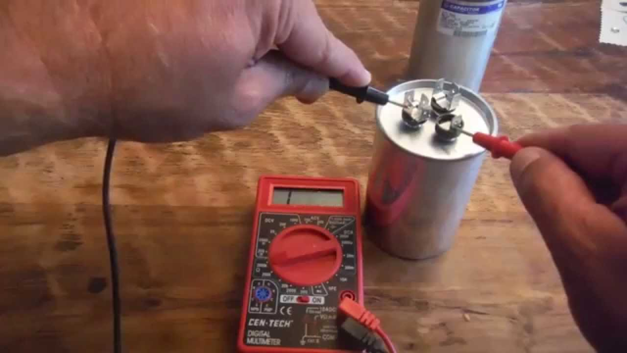 Testing a motor start capacitor for How to test a motor start capacitor