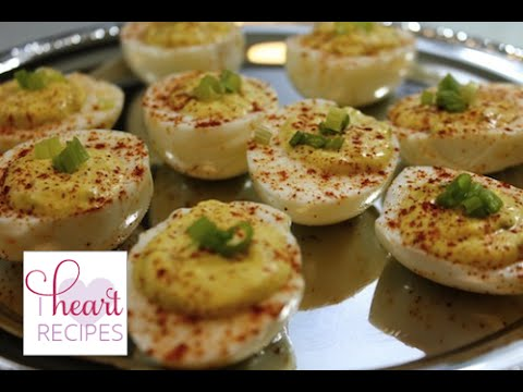 How To Make Easy Delicious Deviled Eggs - I Heart Recipes - Youtube