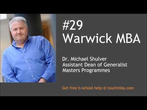 Видео Warwick mba admission essays