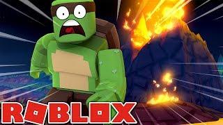 Roblox - A MASSIVE VOLCANO ERUPTS OVER ROBLOX!