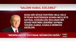 MHP Lideri Bahçeli: \