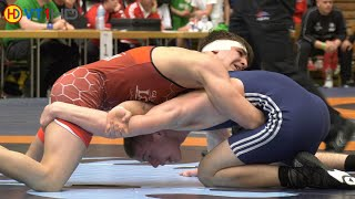 🤼 | Wrestling | German Championships 2019 Cadets (Freestyle) - 71kg Round 5 | FISCHER vs. HERMANN