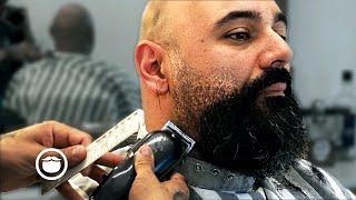 Bald Man's Incredible Beard Transformation | Honest Barber
